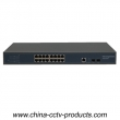 1U 19 ports 1000Mbps Layer 2 Managed POE Switch (POE1602M)