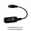 Single Channel Passive Video Balun with Pigtail VB102PF