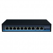 8+2 Port 10/100Mbps PoE Network Switch with RJ45 Uplink (POE0820BNH)