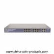 10/100Mbps Gigabit Uplink Switch With 16 Ports PoE (POE1640-2)