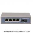 4 Port Rj45 + 1 Port SC Enhanced Fiber Switch