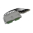 4 Channel Passive CCTV UTP Video Balun, Video Transceiver VB208A