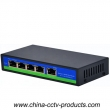 CCTV Security System 4POE+1FE Port POE Switch (POE0410)