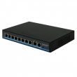 8 Port 10/100Mbps POE Network Switch with 2GE Uplink (POE0820BNH-2)