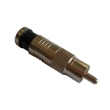 RCA Male Compression Connector for RG59 Cable / CCTV Connector CT5082/RG59