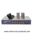 2 Gigabit Uplink and 2 Gigabit SFP Ethernet POE Switch (POE0822SFPB-2)