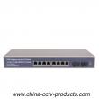 8 Full Gigabit POE and 2 SC POE Switch (POE0802SCB-3)