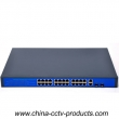 400W 24 Ports POE Switch With 2 Gigabit Uplink (POE2422SFP-2)