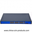 10/100Mbps Gigabit Uplink 24 Port POE Switch (POE2422G)