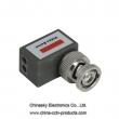 1 Channel Angled Mini Passive CCTV UTP Video Balun VB202C