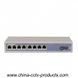 8 Port RJ45+ 1 Port Sc Enhanced Ethernet Switch