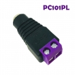 Multicolor DC Female Power Connector for CCTV security system (PC101series)