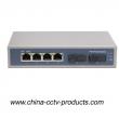 6 Port Lightning Protection CCTV Poe Switch (POE0402SC)