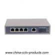 6 Port Fiber CCTV POE Switch (POE0411SC)