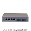 4 Port RJ45+ 2 Port Sc Enhanced Ethernet Switch