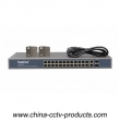 100Mbps 24 Ports PoE Switch with 2 SFP Ports (Built-in Power) (POE2422SFP-2)