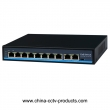 8+2 Port 10/100Mbps PoE Network Switch with RJ45 Uplink (POE0820BN)