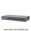 8 POE + 3 Uplink Ports 10/100Mbps CCTV Ethernet POE Switch (POE0830B)