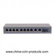 10 Port PoE 1 Port SC Enhanced FE Fiber POR Switch (POE0821SC)