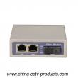 1000Mbps 2 Port RJ45 + 1 Port Sc Enhanced Gigabit Switch