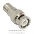 BNC Male to F Female Connector