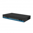Managed 8 ports 1000Mbps Solar PoE switch for 24V and 48V with 2 SFP Ports