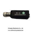 CCTV Cat5 Passive Video Balun with 1 Channel , UTP Video Baluns, CVI/AHD balun