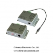 DC Power Video Data Transmitter , Single Channel Video Power Balun, VB303T&R