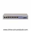 8 Port PoE 1 Port SC Enhanced Full Gigabit POR Switch (POE0801SC-3)