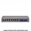 2 Port SC + 8 Port RJ45 Full Enhanced Optical Network Switch