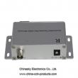 BNC to RJ45 UTP Active CCTV Video Balun, Video Receiver with Metal Case,2400M,VB301R