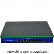8+1 Ports Internal 24V 5A Power POE Switch (POE0810BU)