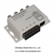 4 Channel BNC to RJ45 / CAT-5 Video Transceiver , Passive CCTV UTP Video Balun VB204P