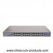 CCTV Security System 24 Ports PoE Switch With Built-in Power (POE2420-2)