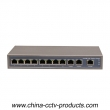 11 port Fast Ethernet Gigabit switch(POE0830-3)