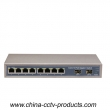 8 RJ45 Port +2 SFP Port Optical Gigabit Switch
