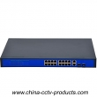 10/100Mbps CCTV Gigabit Switch With 16 Port POE (POE1622G)