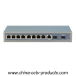 11 ports 1000Mbps Layer 2 Managed POE Switch (POE0802MS)