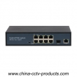 100Mbps 12 Ports PoE Switch with 1 SFP Ports (Built-in Power) (POE0811SFPB-2)