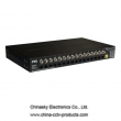 16CH Power/Video/Data Combiner Hub-24VAC-End PVD516E