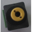 Male DC plug with terminal screws,Tuning fork DC plug,2.1*5.5mm