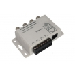 4 Channel BNC to RJ45 /CAT-5 Video Transceiver, Passive CCTV UTP Video Balun VB204P